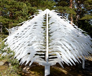 'Shiver House' Kinetic Shelter by NEON