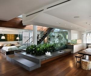 Double Garden Manhattan Home