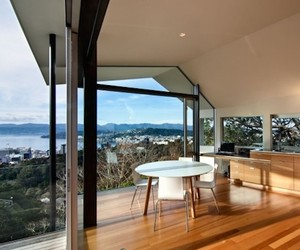 New Zealand Contemporary Wellington Harbor House