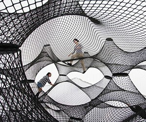 Net Blow-Up Architectural Playscape