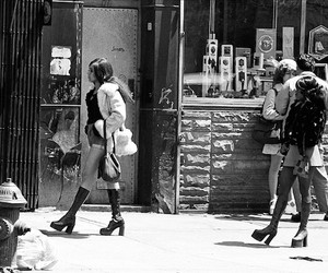 Black & White Photography of Street Scenes in NY