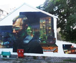 Mural by Spanish Street Artist Sebas Velasco