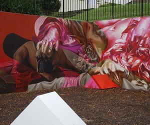 Vibrant Mural by Street Artists TELMO MIEL & Evoca