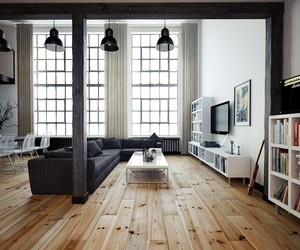 Oskar Firek Designed Loft For Men