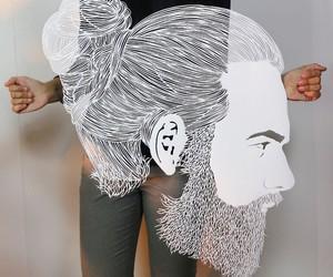 """Paper Hair Cuts"" by Artist Parth Kothekar"