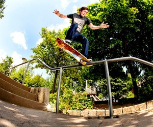 Skateboarding: RVCA Germany Tour