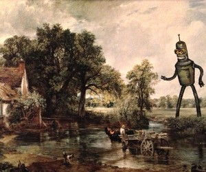 Recreations of Thrift Store Paintings by D.Pollot