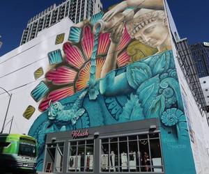 Vibrant Mural by Artist Beau Stanton in Nashville
