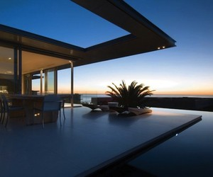 South African Crescent Bay Residence