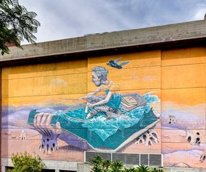 Sailor Story - New Mural by Rustam Qbic in Perth