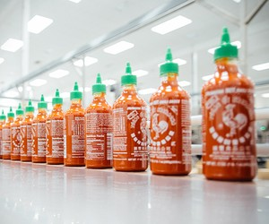 Inside Look At Sriracha Hot Sauce