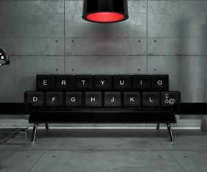 The qwerty Couch