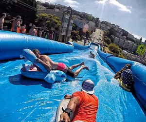 Urban Slip & Slide, San Francisco
