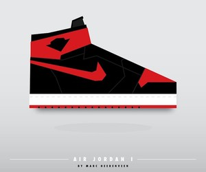 Sneaker Art by Marc Heerenveen aka by.marc