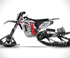 Christini AWD Snow Bike