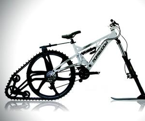 Ktrak Snowmobile Bicycle Kit