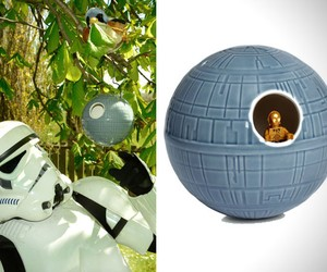 Death Star Birdhouse