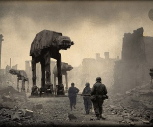 Star Wars WWII Art