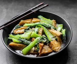 Stir Fried Bok Choy and Tofu