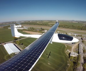 Fly Across America By Using Solar Energy Only!