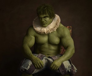 Superheroes Inspired by Flemish Paintings