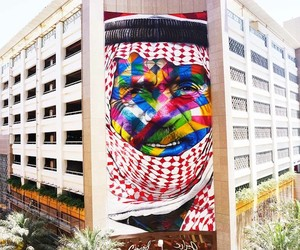 """The Bedouin"" – New Mural by Eduardo Kobra in Duba"