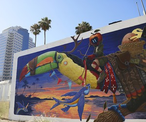 """The Poacher"" by Street Artist DULK in California"