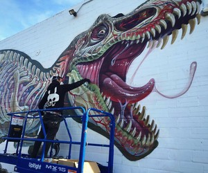"""""""Translucent T-Rex"""" by Nychos in California"""