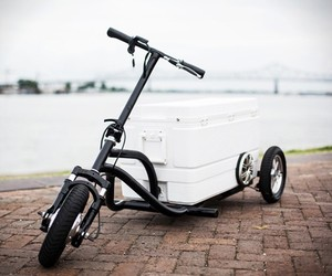 Kreweser Electric Cooler Trike