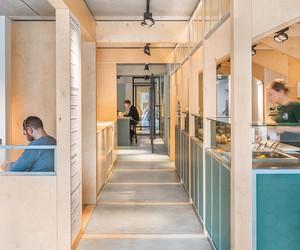 SLA Salad Bar In Amsterdam by Standard Studio