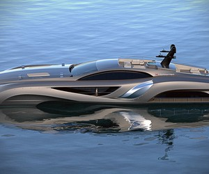Batmobile of Yachts | Xhibitionist