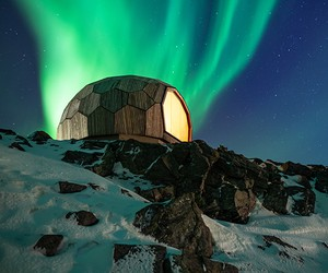 Hammerfest Hiking Cabins / SPINN + Format