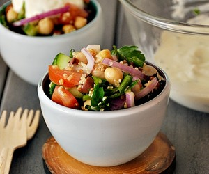 Chickpeas &amp; Quinoa Salad