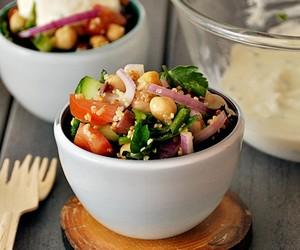 Chickpeas & Quinoa Salad
