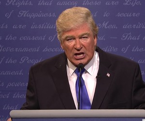 Alec Baldwin Plays Donald Trump in Cold Open