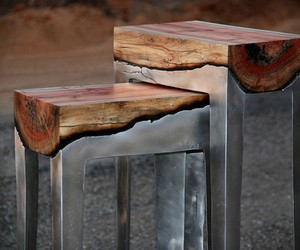 Aluminum & Wood Furniture | by Hilla Shamia