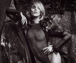 Anja Rubik in Lui Magazine Shot by Mario Sorrenti