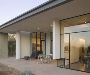 Concrete and Glass Home in Arizona