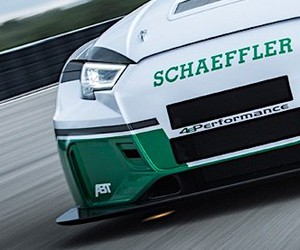 Schaeffler designs a 1,200 hp electric racing car