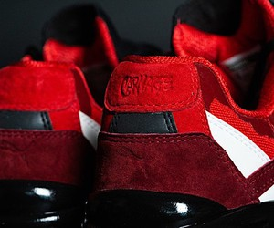 Puma, Bait and Marvel create blood-red shoes