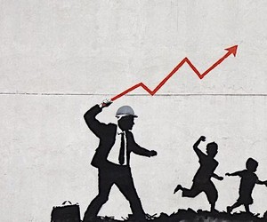 Capitalism Criticism by Banksy