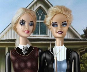 Not the ones you think – Barbie Art School Photos
