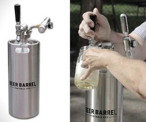 Beer Barrel Portable Keg