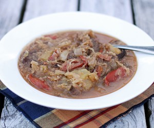 Bigos - Polish Style Hearty Stew of Beef