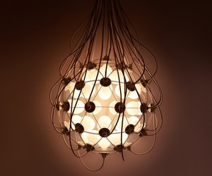 A beautiful lamp top promote life creation