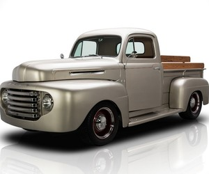 1949 Ford F1 Pickup Hits Auction