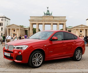 Exploring Berlin in the new BMW x4
