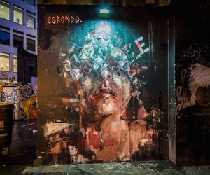 """Looking For"" New Mural by Borondo in London"