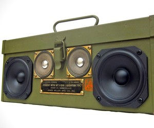 BoomCase Signal Corps Boombox