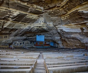 Cave Church of Egyptian Garbage People